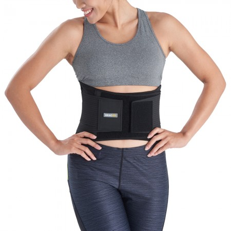 【美國Bracoo奔酷】高透氣輕量腰部護具(BP60) 免運