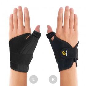 【美國Bracoo奔酷】手腕大拇指進階包覆式護具 會呼吸的專業護具(TP32) 免運
